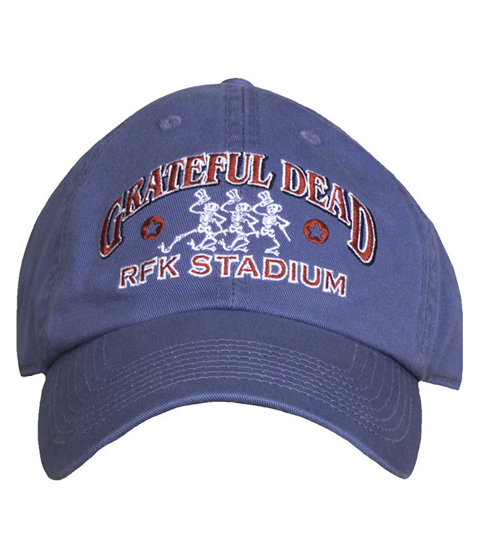Grateful Dead Rfk 73 Blue Hat Liquid Blue