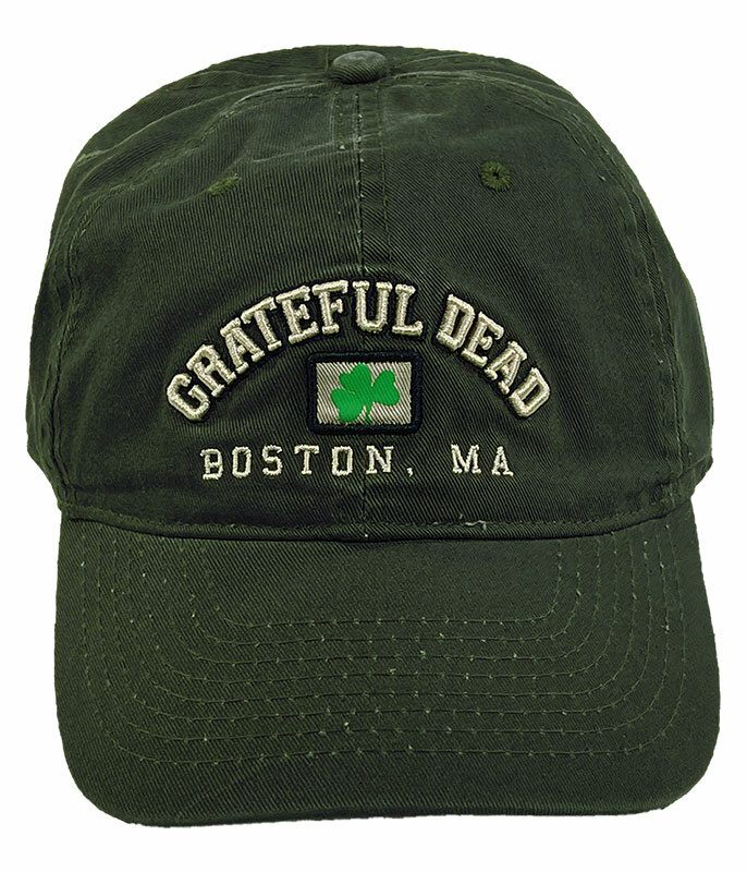 Grateful Dead Boston 91 Olive Hat Liquid Blue