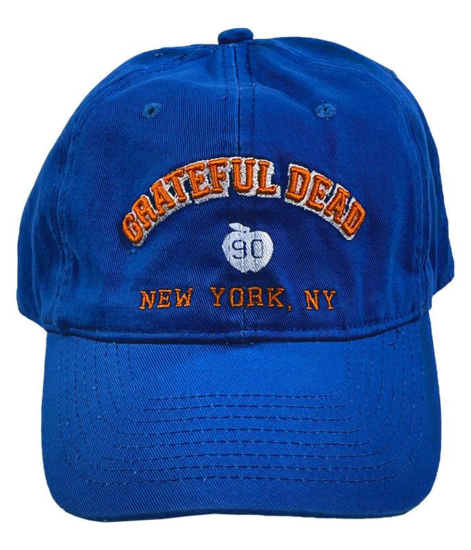 Grateful Dead New York 90 Royal Hat Liquid Blue