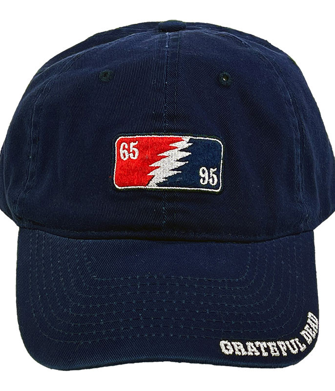 Grateful Dead GD 65-95 Navy Hat Liquid Blue