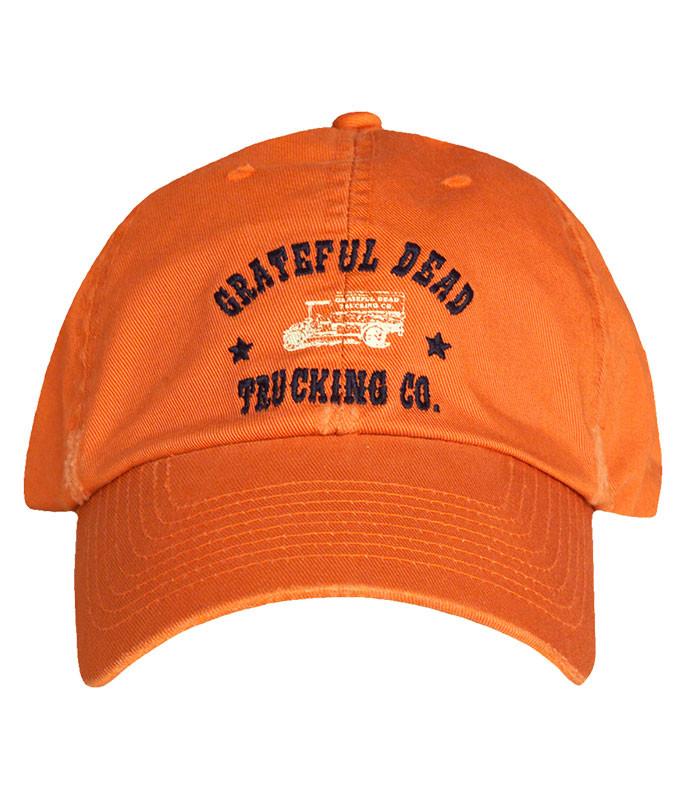 4a5b516e382 Grateful Dead GD Oval Black Hat Liquid Blue