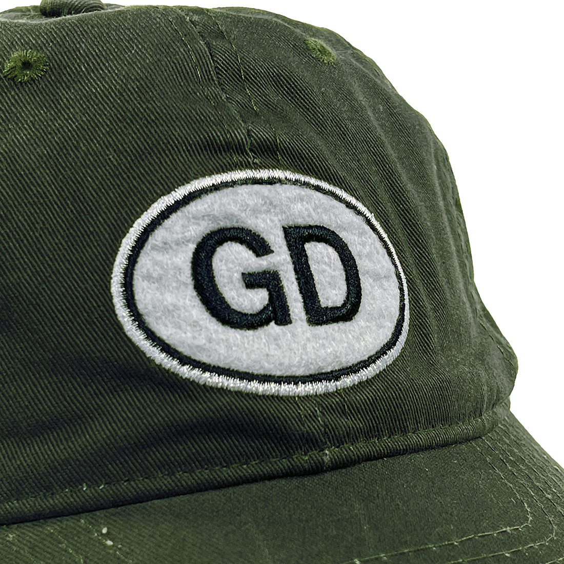 GD Oval Green Hat