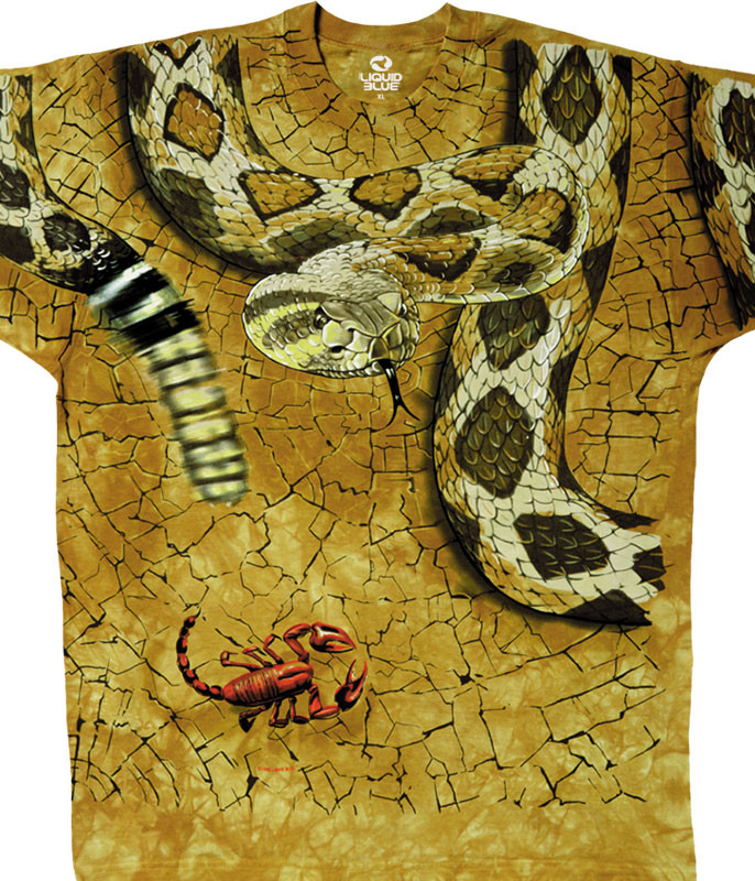 Rattler Tie-Dye T-Shirt