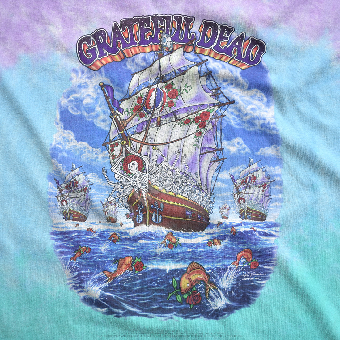 Ship Of Fools Tie-Dye T-Shirt