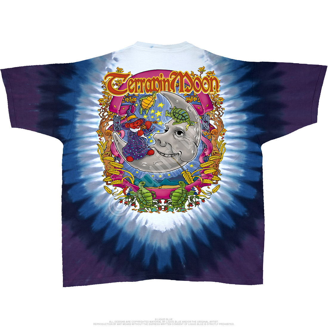 Terrapin Moon Tie-Dye T-Shirt