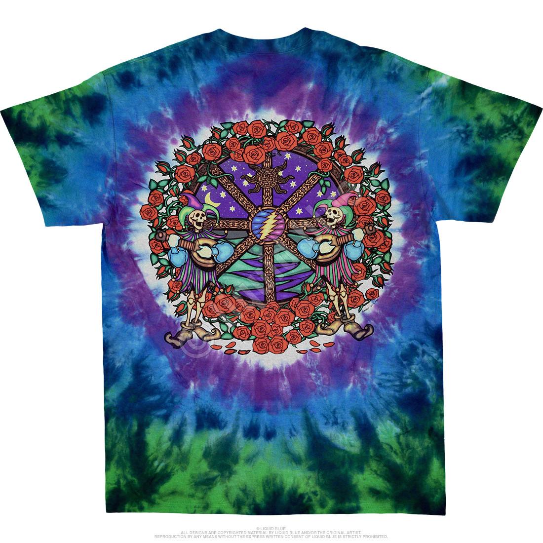 Celtic Mandala Tie-Dye T-Shirt