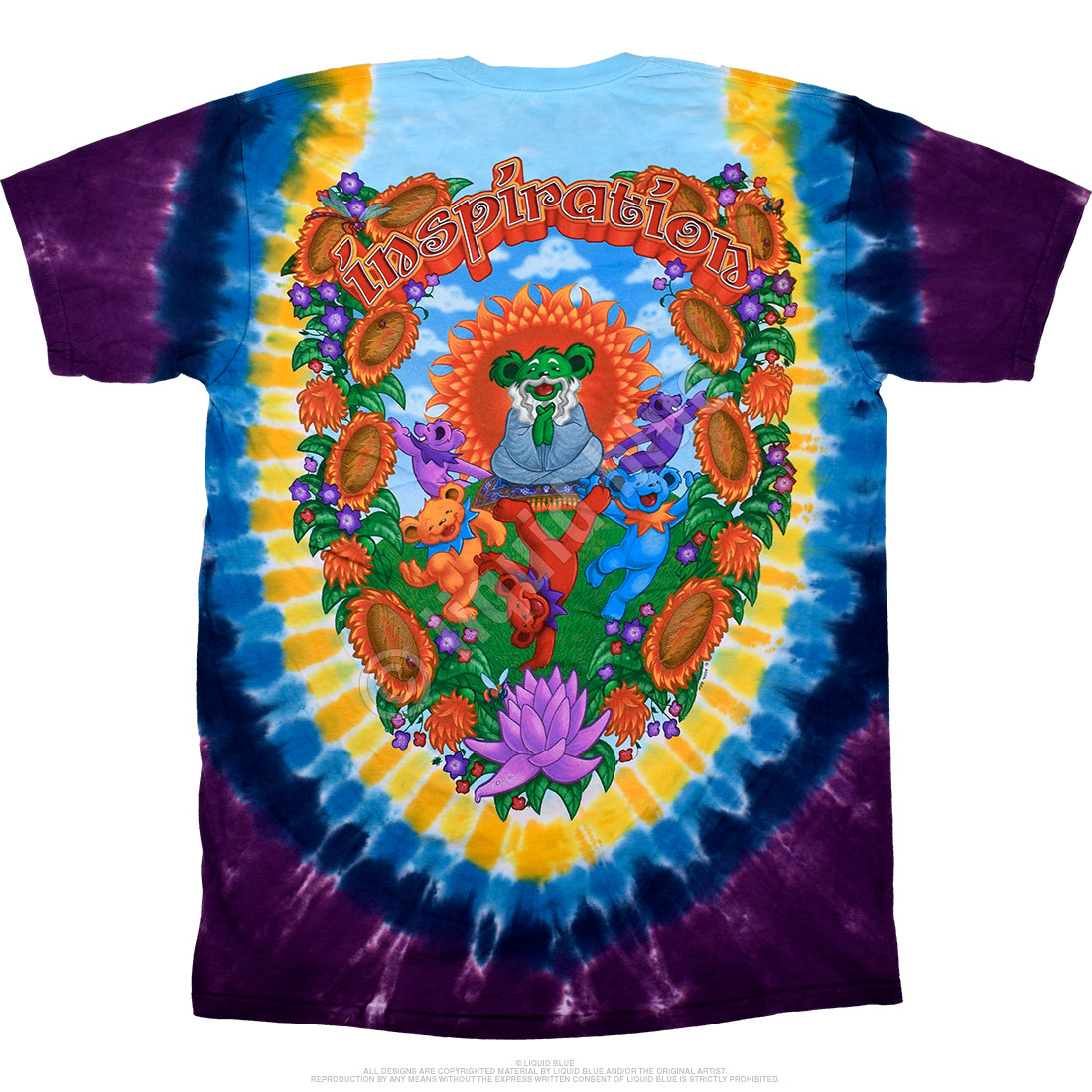 Guru Bear Tie-Dye T-Shirt