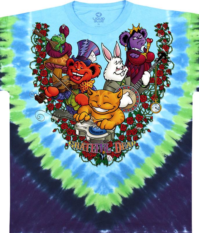 Wonderland Jamband Tie-Dye T-Shirt
