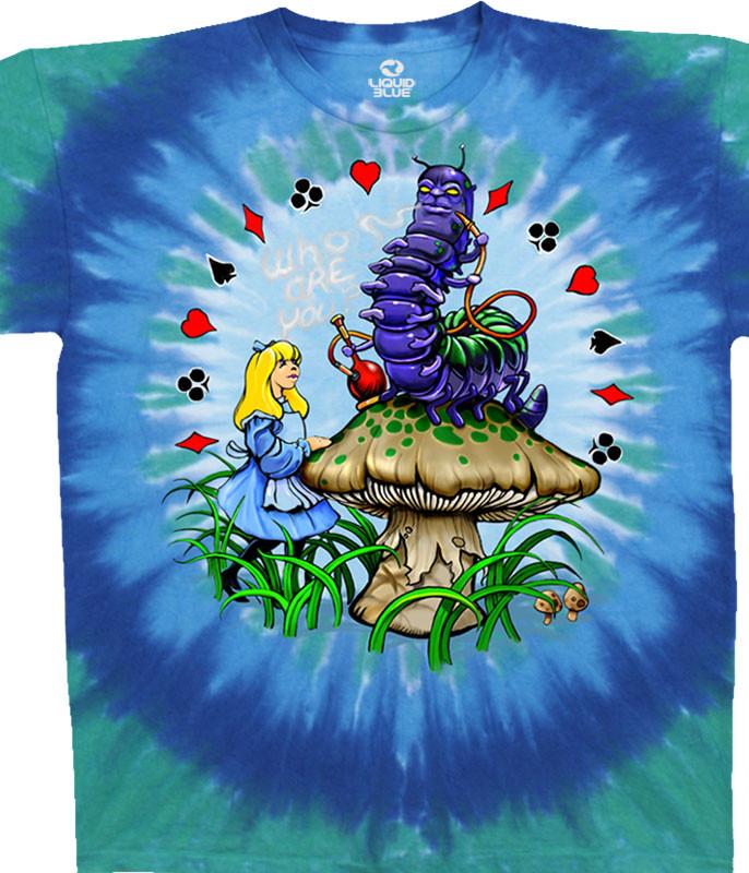 Alice And Caterpillar Tie-Dye T-Shirt