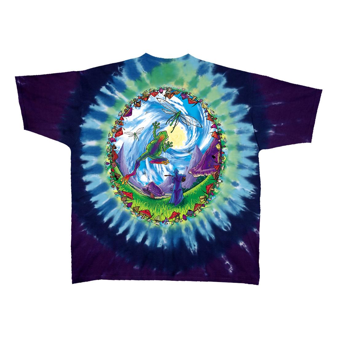 Mushroom Haven Tie-Dye T-Shirt
