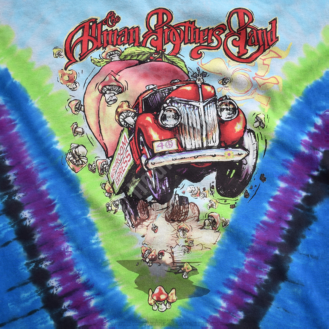 Allman Brothers Tie-Dye T-Shirt