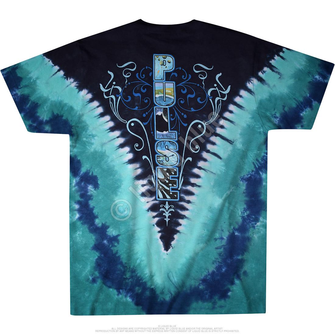 Pulse V Tie-Dye T-Shirt