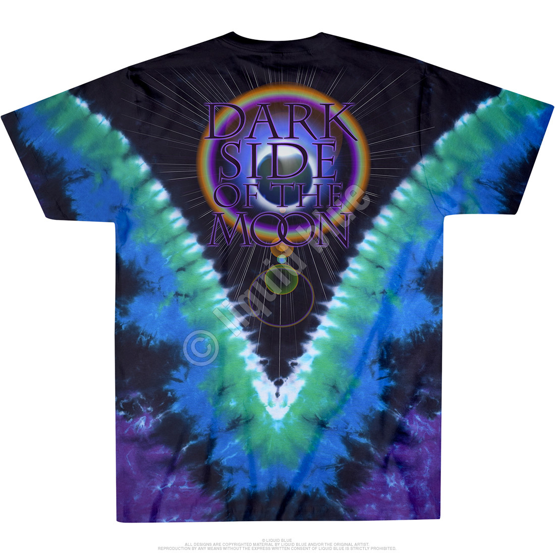 Dark Side Vdye Tie-Dye T-Shirt