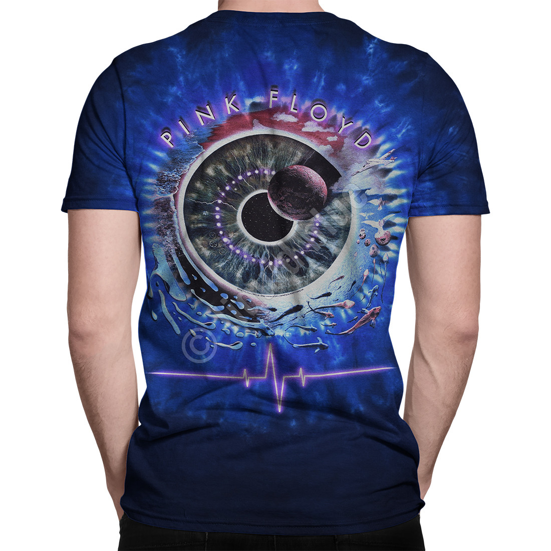 Pulse Concentric Tie-Dye T-Shirt
