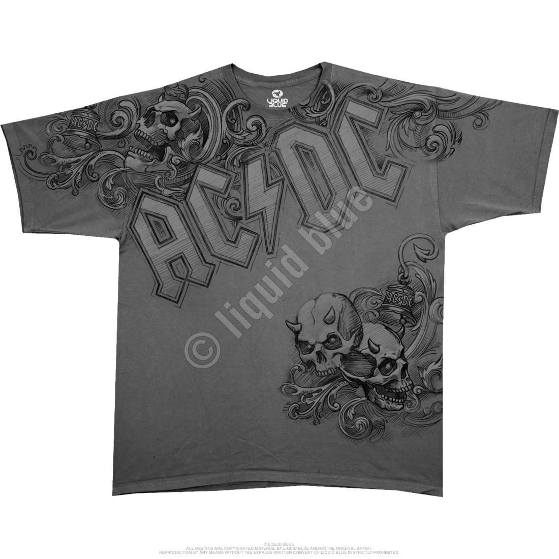 Night Prowler Grey Athletic T-Shirt