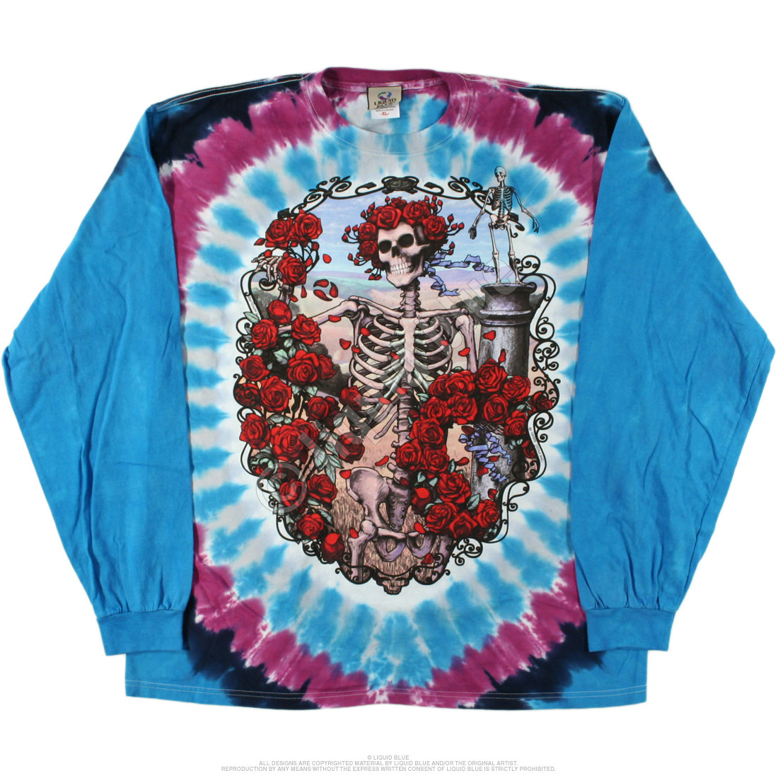 30th Anniversary Tie-Dye Long Sleeve T-Shirt