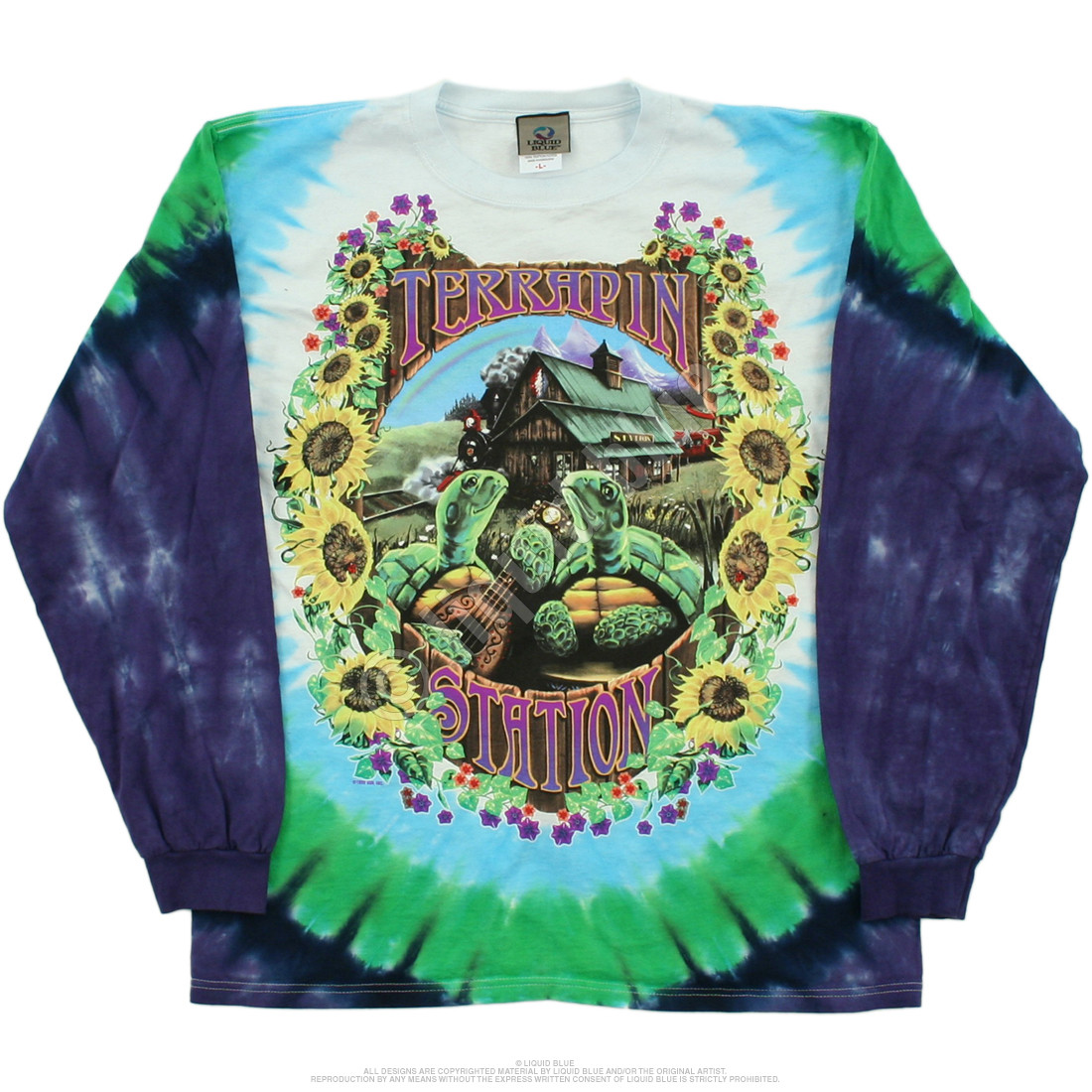 Terrapin Station Tie-Dye Long Sleeve T-Shirt