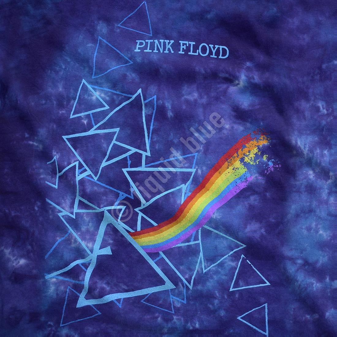 Prisms Tie-Dye Juniors Long Length T-Shirt
