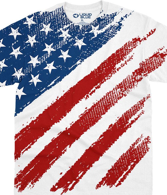 Star Spangled Banner White T-Shirt