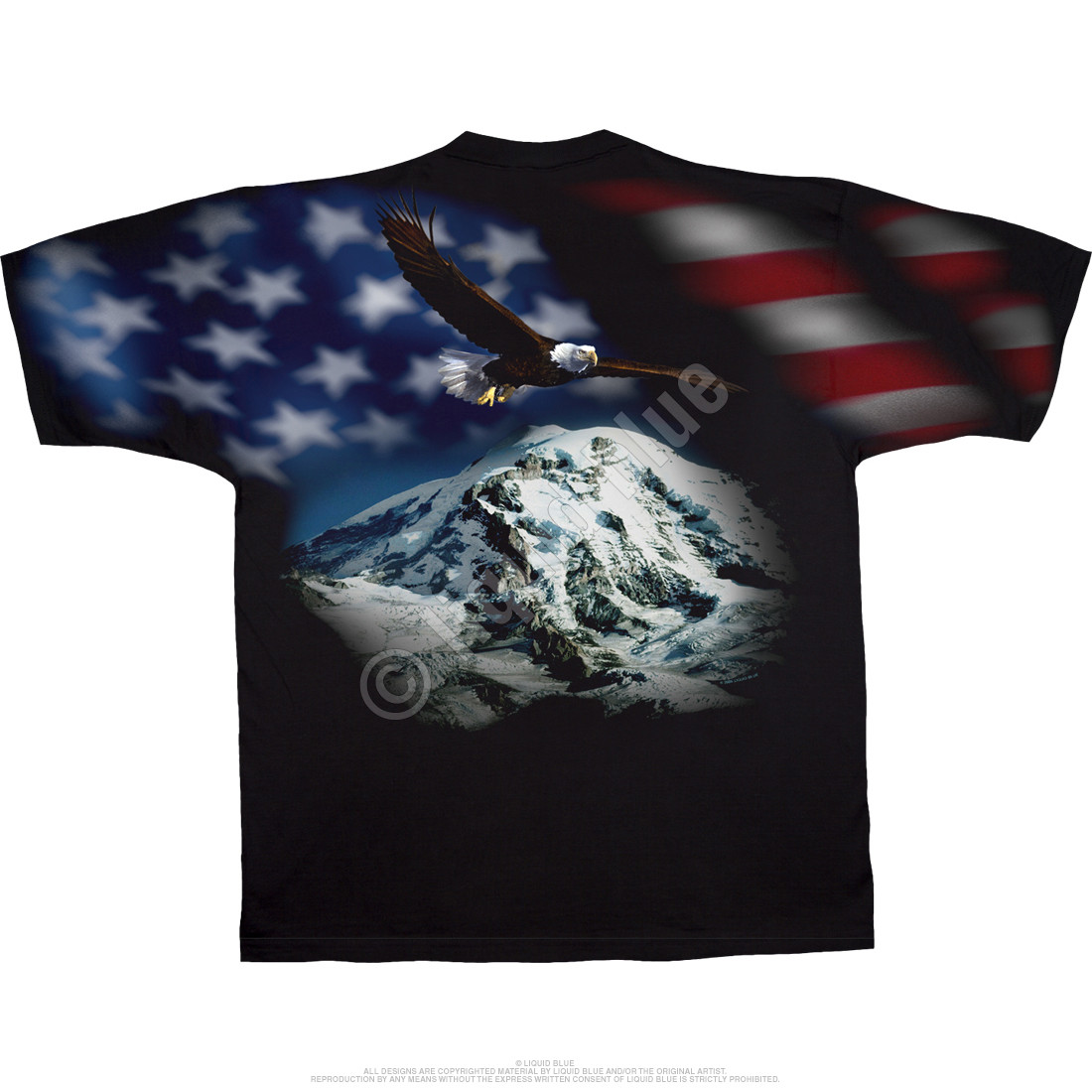 American Eagle Black T-Shirt