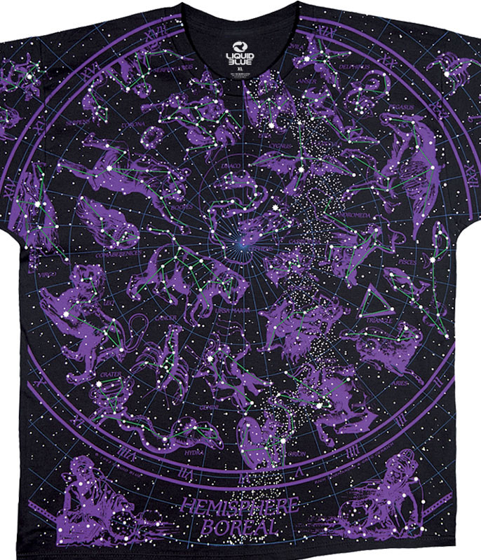 Constellation Black T-Shirt