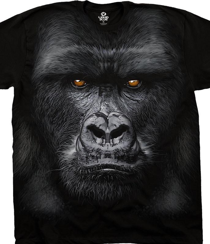 Majestic Gorilla Pick Your Size T Shirt Youth Medium-6 X Large