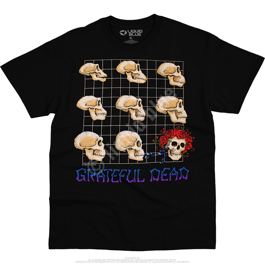 Evolution Black T-Shirt