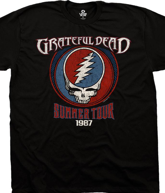 Summer 87 Black T-Shirt