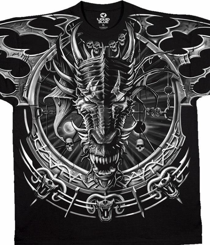 Dragon Catcher Black T-Shirt