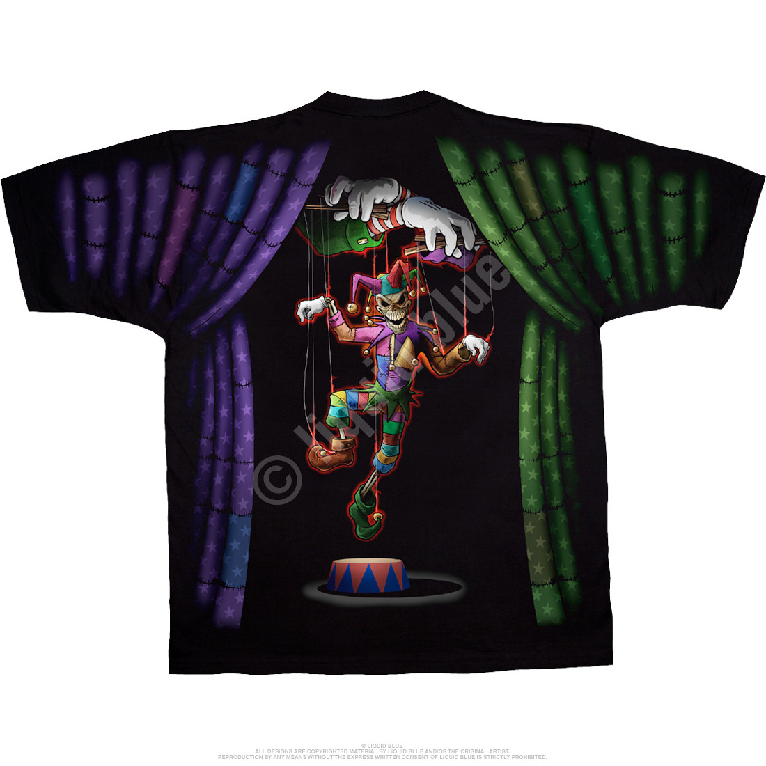 Evil Clown Black T-Shirt