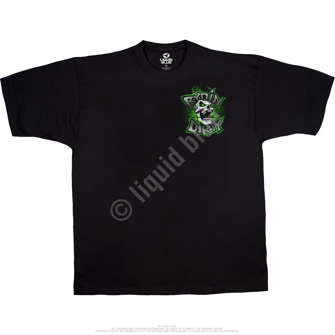Rydin Dirty Black T-Shirt
