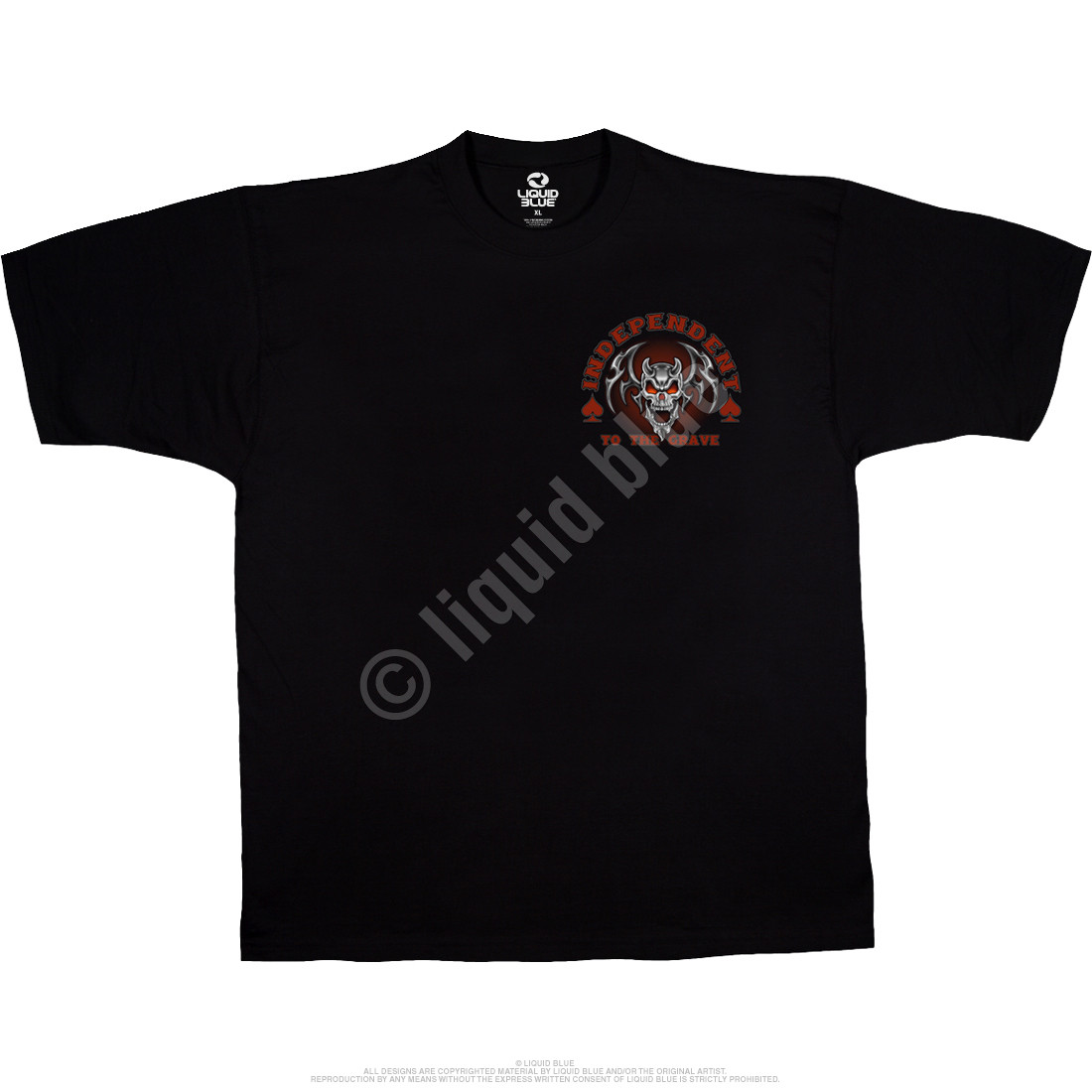 Heaven & Hell Black T-Shirt