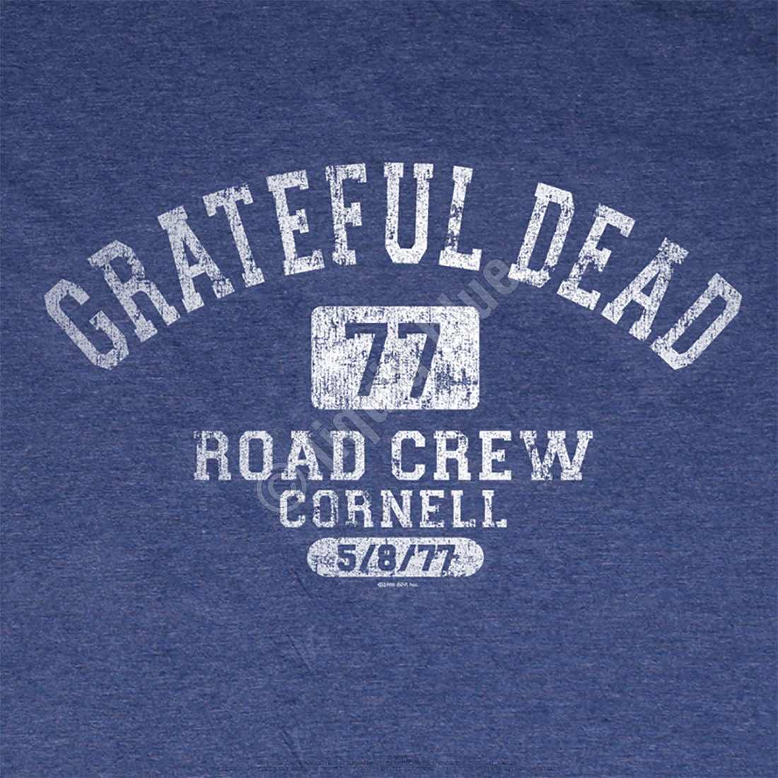 GD Road Crew Navy Poly Cotton T-Shirt