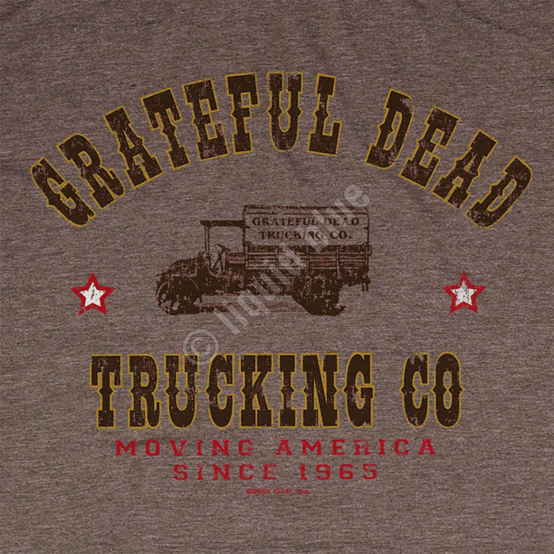 GD Truckin Brown Poly Cotton T-Shirt