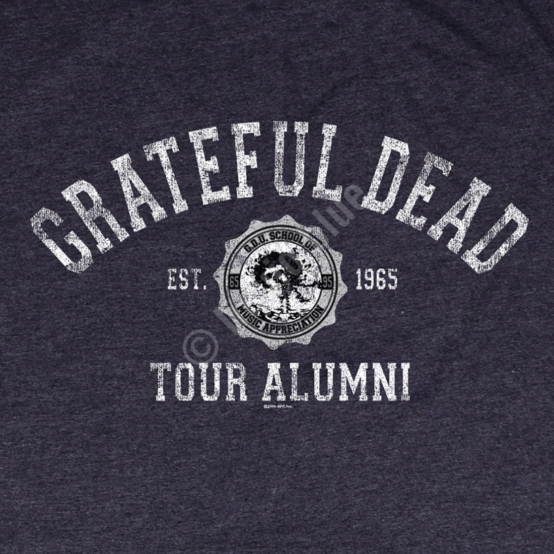 GD Tour Alumni Grey Poly Cotton T-Shirt