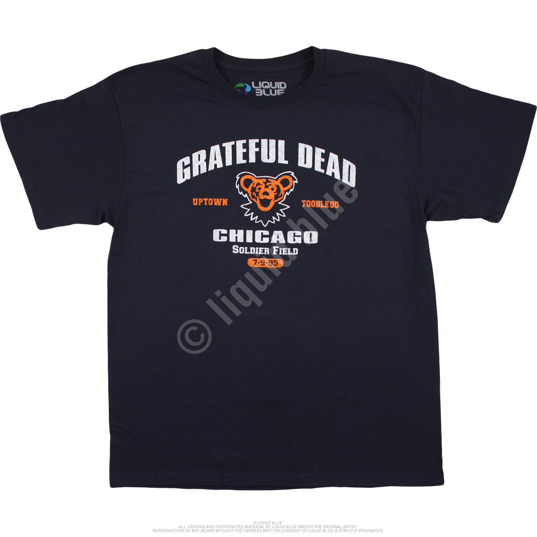 Chicago 95 Navy T-Shirt