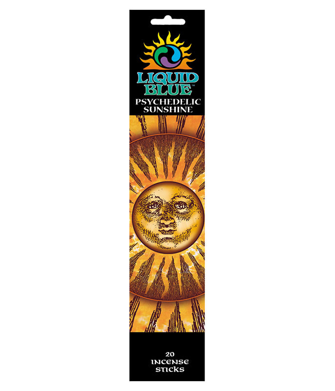 Space Psychedelic Sunshine Incense Pack Liquid Blue