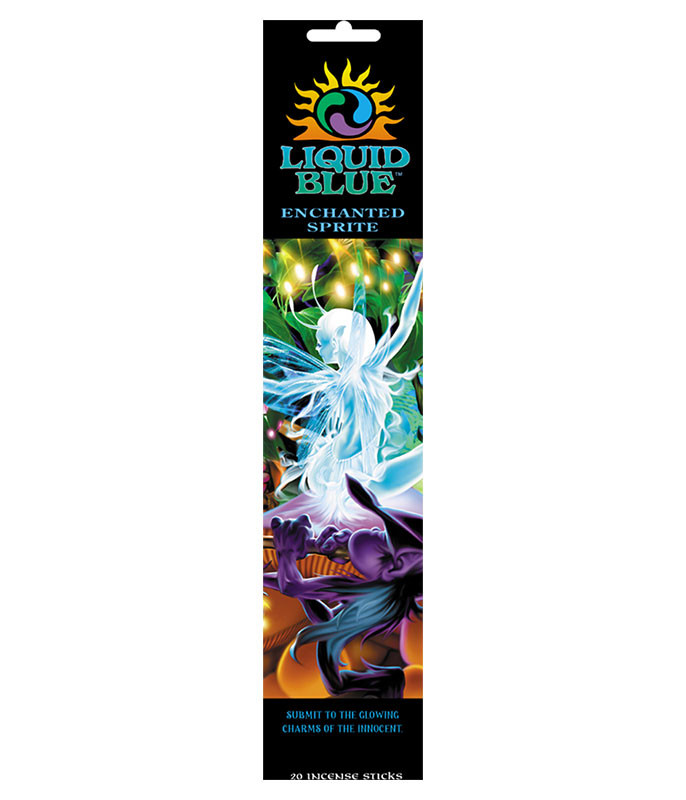 Light Fantasy Mystical Enchanted Sprite Incense Pack Liquid Blue