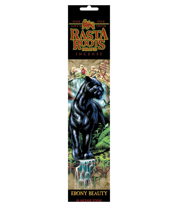 Rasta Roots Ebony Beauty Incense Pack Liquid Blue