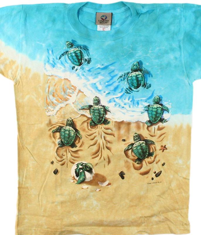 TURTLE BEACH YOUTH TIE-DYE T-SHIRT