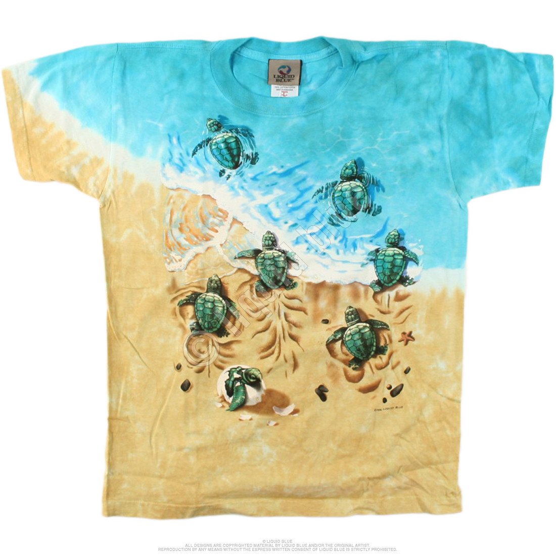 Turtle Beach Youth Tie-Dye T-Shirt
