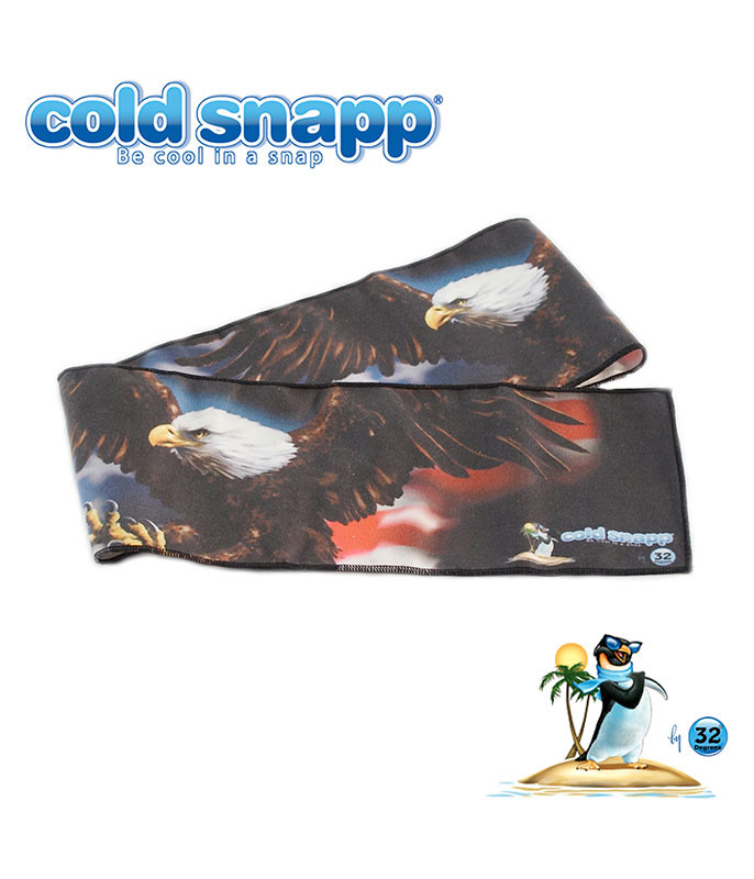 Cold Snapp American Eagle Sports Wrap Liquid Blue