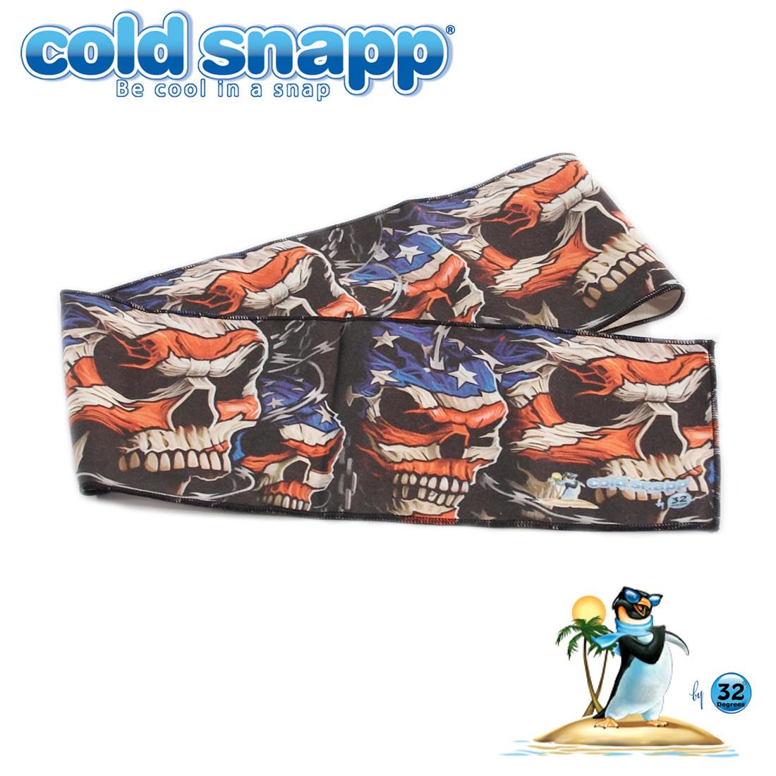 Patriotic Skulls Sports Wrap