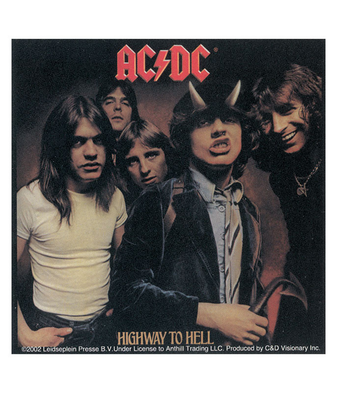 HIGHWAY TO HELL STICKER