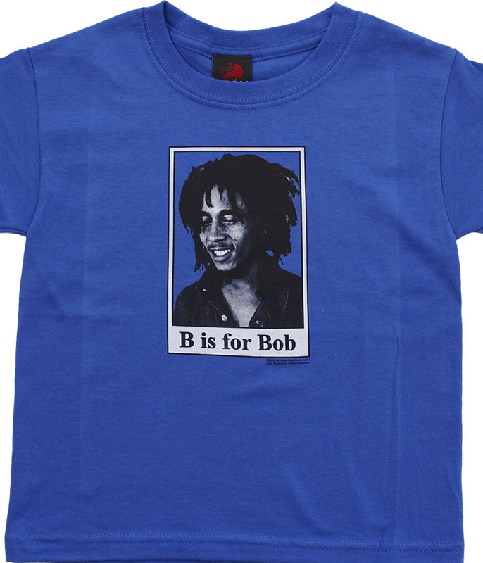 B IS FOR BOB TODDLER ROYAL BLUE T-SHIRT
