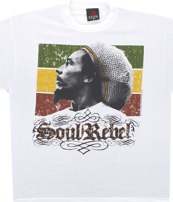 Soul Rebel White T-Shirt