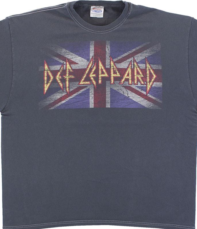 Def Leppard Vintage Jack Grey T-Shirt Tee