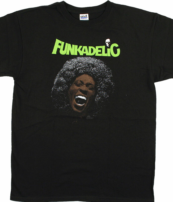 FUNKADELIC MAGGOT BRAIN BLACK T-SHIRT