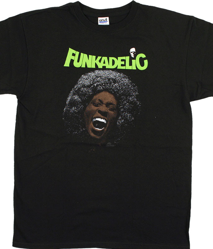 George Clinton Funkadelic Maggot Brain Black T-Shirt Tee