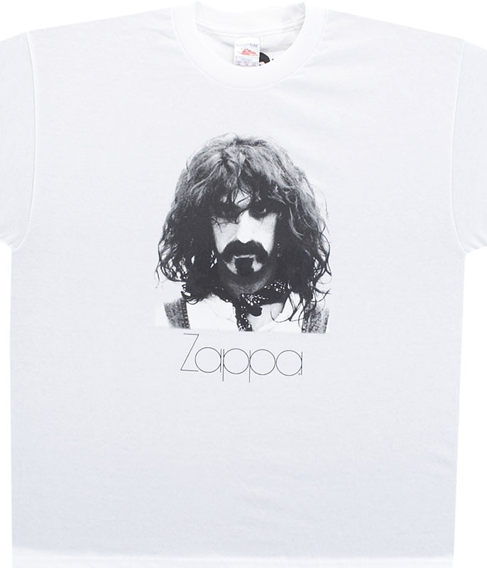 Frank Zappa Zappa Portrait White T-Shirt Tee
